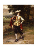 A Cavalier Giclee Print by Cesare Auguste Detti