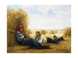 Harvest Time; Le Temps de Moisson Giclee Print by Julien		 Dupre