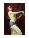 A Damascan Dancer Giclee Print by Otto		 Pilny