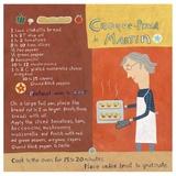 Martin's Special Pizza Print by Céline Malépart
