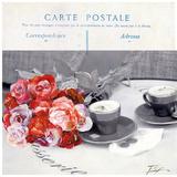 Cafe Fleur Prints by  Lizie
