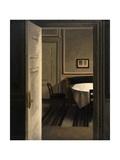 Interior, Strandgade 30 Prints by Vilhelm Hammershoi