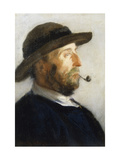 Portrait of an Artist Giclee Print by Walter Frederick		 Osborne
