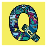 Letter Q Prints by Emi Takahashi