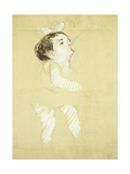 Breastfeeding Infant Impression giclée par Mary Cassatt