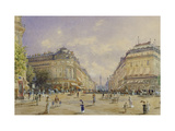 La Rue de la Paix, Paris Giclee Print by Alt Franz