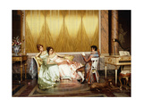 The Poetry Reading Giclee Print by Vittorio		 Reggianini