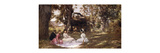Picnic Under the Trees Premium Giclee Print by Julius Leblanc Stewart