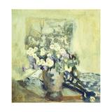Vase de Fleurs Prints by Edouard Vuillard