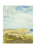 Montauk Point Premium Giclee Print by Childe Hassam