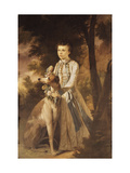 Portrait of John Graham, as a Boy, in Indian Dress Giclee Print by Kettle Tilly