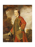 Portrait of Sir Gerard Napier, 6th Bt. (1739-1765), in the Uniform of the Dorsetshire Militia Posters by Sir Joshua Reynolds