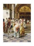 The Christening Giclee Print by Emilio Poy Dalmau