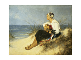 Music in the Dunes Giclee Print by Seeger Hermann