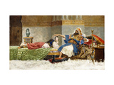 The Favourite Giclee Print by Antonio Maria		 Fabres y Costa