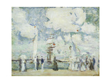 Harbour Entrance at Deauville Posters by Paul Cesar		 Helleu
