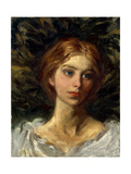 Portrait of a Girl Giclee Print by Abbott Handerson		 Thayer