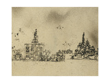 Ancient City on the Water Prints by Paul Klee