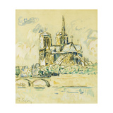 Notre Dame Posters by Paul		 Signac