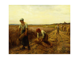 The Harvesters Giclee Print by Aime		 Perret