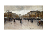 Junction near the Champs Elysee Prints by Luigi		 Loir