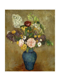 Vase of Flowers Premium Giclee Print by Odilon Redon