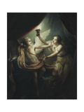 Cupid abandoning Psyche Giclee Print by Charles Antoine		 Coypel