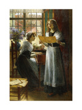 The Duet Giclee Print by Walter		 Firle