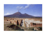 Vesuvius from Pompei Prints by Louis		 Spangenberg