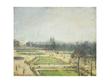 The Tuileries Ponds, Mist Prints by Camille		 Pissarro