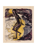 Man Rising from the Sea Giclee Print by Ernst Ludwig Kirchner