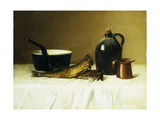 Still life with Herring, Pot, Jug and Measure Art by Ramsey Milne
