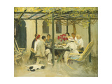 Tea at Palm Springs Giclee Print by Sir John		 Lavery