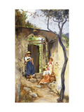 The Garden Door Giclee Print by Charles Caryl Coleman