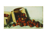 Basket of Strawberries Giclee Print by Joseph		 Decker