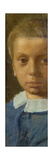 The Child in Blue Premium Giclee Print by Edgar Degas