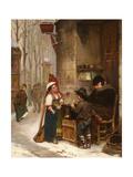 The Chestnut Vendor Prints by Henry Bacon