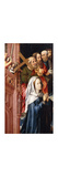 The Virgin Mary with Four Apostles Premium Giclee Print by Coter Colijin