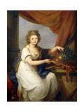 Portrait of Countess Catherine Skavronska Giclee Print by Angelica Kauffmann