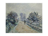 Crozard Road, Little Fog and Frost Giclee Print by Armand		 Guillaumin