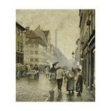 Krystalgade, Copenhagen Giclee Print by Paul Fischer