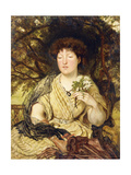 May Memories Print by Ford Madox		 Brown
