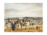 (Camp de) L'Infanterie Bravo Palatine Giclee Print by Wilhelm Alexander Kobell