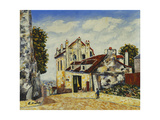 Montmartre Giclee Print by Elisee Maclet