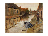 Volendam Giclee Print by Frits		 Thaulow