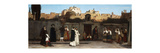 Roman Street Scene Premium Giclee Print by Charles Caryl		 Coleman