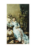 La Belle Epoque Giclee Print by Leon Henri Marie		 Frederic