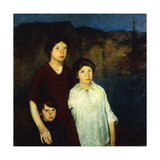 Waiting Giclee Print by Charles Webster		 Hawthorne
