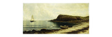 Along the Shore Premium Giclee Print by Alfred Thompson		 Bricher