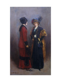 Hors Concours - Les Midinettes Giclee Print by Jean Béraud